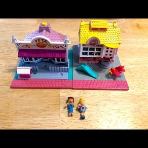 Vintage Polly Pocket Pet And Toy Stores